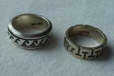 Vintage Sterling Silver 925 Ring Lot Size 6 Iona Silver & Spinner