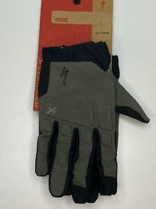new Specialized Body Geometry RIDGE mens bicycle Long Finger GLOVES Green