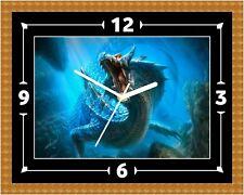 Sea Dragón Reloj Regalo Presente Navidad Cumpleaños (personalizable)