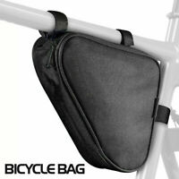 Bicycle Bike Storage Bag Triangle Saddle Frame adjustable Cycling Pouch/*
