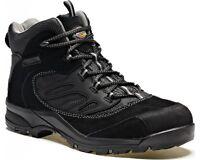 Dickies Dalton Safety Steel Toe Cap Mens Black Suede Work Boots UK6-12