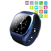 M26 Bluetooth Smart Wrist Watch Phone Mate For Android Samsung Iphone Sony Black