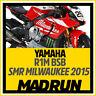 Kit Adesivi Yamaha R1 - R1M Team Milwaukee SMR BSB 2015 - High Quality Decals