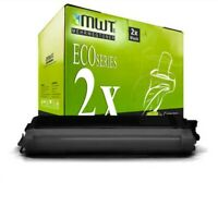 2x MWT Eco Cartucho Negro Compatible para Brother MFC-9125-CN MFC-9325-CW
