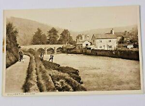 Dulverton Bridge Exeter Printed Postcard