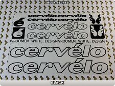 CERVELO Stickers Decals Bicycles Bikes Cycles Frames Forks Mountain MTB BMX 57M