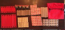 000004A6 Vintage ImaginAction Woodlocks Creative Development Building Set Education