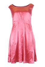 *MOSCHINO* CHEAP & CHIC SLEEVELESS PINK SATIN DRESS (UK 14)