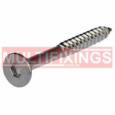 2000pcs - 14g x 100mm SS316 Stainless Steel Bugle Head Screws