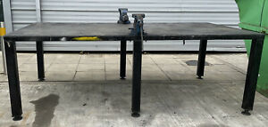 Welding Work Bench Workshop Metal Bench Fabrication Bench Jig Bench Vices