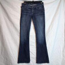 Rock & Republic 25/32 Kasandra Embellished Back Pockets Slim Boot Cut Jeans
