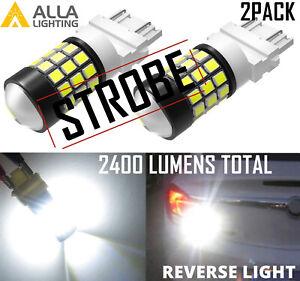 LED 3156 Strobe Blinking Flashing Reverse Light Bulb for JEEP,Safety Warning