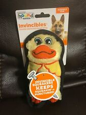OUTWARD HOUND - Invincible Mini Dog Toy Yellow Duck
