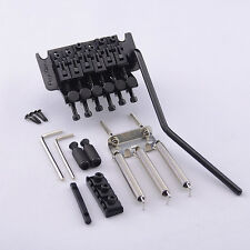 Original Floyd Rose Tremolo w/ R3 Locking Nut FRT02000  System Bridge In Black