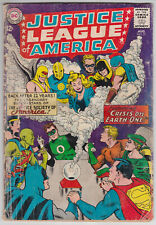 Justice League Of America #21 G 2.0 Justice Society Crisis On Earth One!