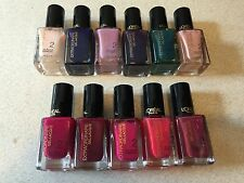 L'oreal Gel Step 2 Nail Color Polish Wholesale Lot of 18 Assorted + Step 1 & 3