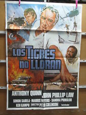 A4515 Los tigres no lloran Anthony Quinn,  John Phillip Law,  Simon Sabela