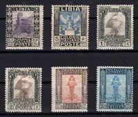P136192/ ITALIAN LYBIA / LOT 1921 – 1929 MINT MNH CV 440 $