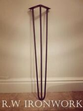 Hairpin Legs. Retro, Eames era. Table legs,(SET OF FOUR)