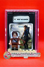 Tomb Raider: LARA CROFT Custom Carded Minifigure Display Mini-figure Fig
