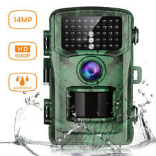 Toguard Trail Camera 14Mp 1080P Wildlife Game Hunting Night Vision Waterproof Us