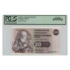 *jcr_m* SCOTLAND 20 POUNDS 1983 (1983-1985) P.215B PCGS-65 *UNCIRCULATED*