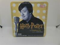 Harry Potter Stephen Fry Limited Edition Audiobook Cassette Tin 1-3
