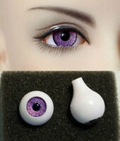 1/3 1/4 1/6 bjd 12mm acrylic doll eyes metallic purple full eyeball dollfie AE61