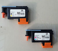 New 2-Pack 940 PRINTHEAD C4900A & C4901A For HP OfficeJet Pro 8000 8500