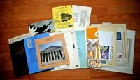 CatalinaStamps: US Lot of FDC's & Commemoratives, Lot E95