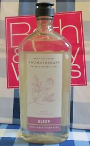Bath & Body Works Body Wash Aromatherapy Sleep Rose & Lavender 10 oz./295ml