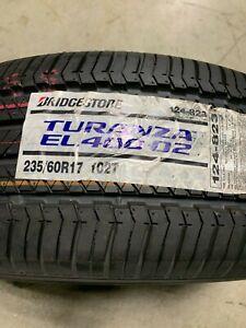 1 New 235 60 17 Bridgestone Turanza EL400-02 Tire