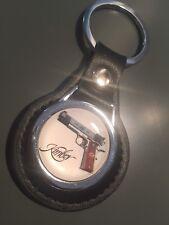 Kimber 1911 armes à feu/fusils en cuir véritable Porte-clés
