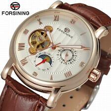 Genuine Forsining Automatic Tourbillion Movement Moon Phase Watch (Not Fake)
