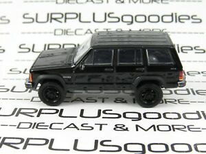 Greenlight 1:64 Scale LOOSE Murdered-Out Black 1990 JEEP CHEROKEE SUV 4X4