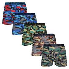 Boxers Homme (lot de 5) Coton - Caleçon Camouflage Super qualité très tendance