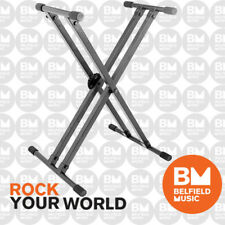 On-Stage KS8291 Heavy Duty Double-X Keyboard Stand Onstage KS-8291 - Brand New
