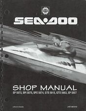 1995 SeaDoo SP SPI SPX GTS GTX XP Bombardier Shop Service Repair Manual 95 on CD