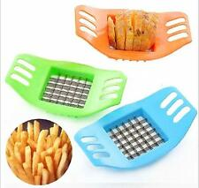TIA Potatoes Cutter Cut into Strip French Fries Tool Kitchen Gadget Color Random