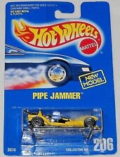 HOT WHEELS BLUE CARD PIPE JAMMER COLLECTOR # 206