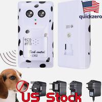 Ultrasonic Dog Bark Control Anti Barking Device Silencer Stopper Outdoor Indoor