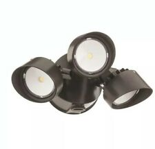 Lithonia Lighting 200-Watt EQ Bronze Integrated LED Dusk-to-Dawn Floodlight