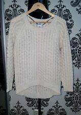 Damen Pullover Strick Sweatshirt Vero Moda S 34 36 38 Beige Creme w.NEU Winter