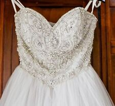 Unbranded Beading Tulle Wedding Dresses