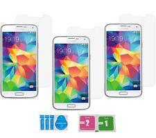 3x Samsung Galaxy S5 SM-G900F Panzerglas 9H Echtglas Panzerfolie Schutzfolie