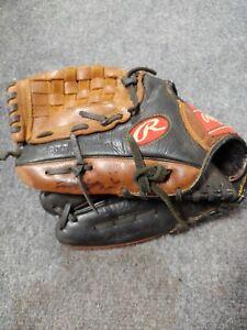 Rawlings Baseball Glove Premium Series Brown Basket Web Left Handed 11.5 D115PT