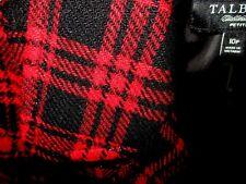 Talbots Jacket-Red Black-Light Sparkle-Wool Blend--Size 10P-NWOT #S6