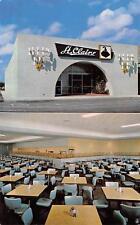 ST CLAIRS' North Miami Cafeteria Florida Restaurant Vintage Postcard ca 1960s