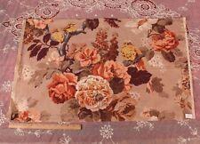 "French Deco Linen Bird & Floral Home Fabric/Print~18""Lx31""W~Pi llow,HomeDec"