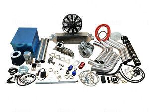 FOR Tacoma 4Runner Turbo Kit T3 2RZ-FE 3RZ-FE 490HP 1TRFE 2TRFE 2.4L 2.7L
